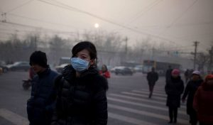 pollution masque